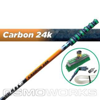 Unger New nLite Carbon 24K Complete Startset 11,8 meter Swivel Borstel