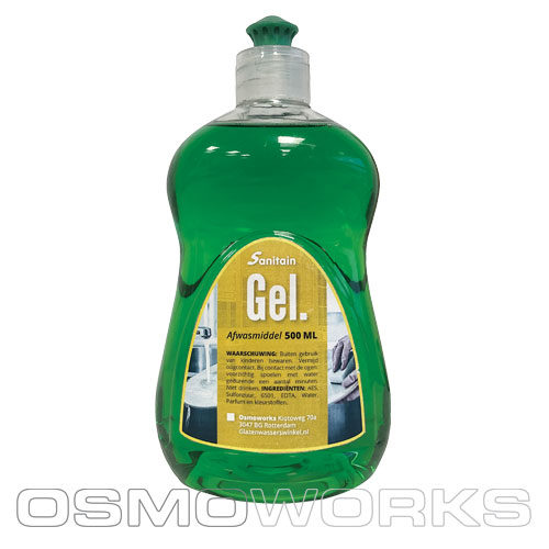 Sanitain Gel afwasmiddel | Glazenwasserswinkel.nl