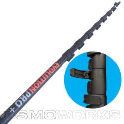 Evolution Pro Plus Hi-Mod Carbon steel 13 meter | Glazenwasserswinkel.nl