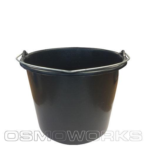 Standaard emmer per 10 stuks 12 liter| Glazenwasserswinkel.nl