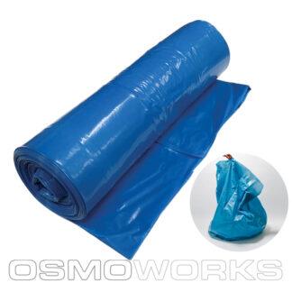 Kliko Zak 65/25×140 cm T70 Blauw 50 stuks | Glazenwasserswinkel.nl