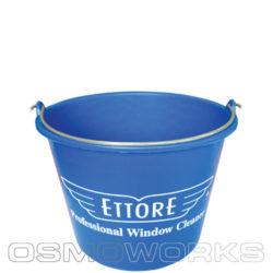 Ettore emmer blauw 12 liter | Glazenwasserswinkel.nl