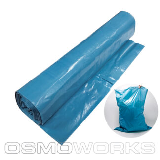 Afvalzak groot 80×110 cm T60 Blauw | Glazenwasserswinkel.nl