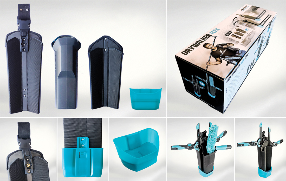 Moerman DryWalker Flex Bucket | Glazenwasserswinkel.nl