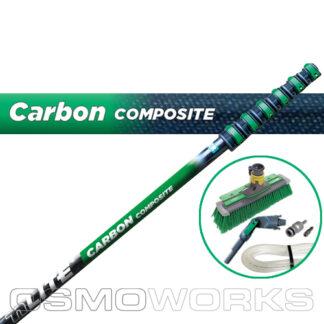 Unger New nLite Carbon Composite Startset 8,6 m Swivel | Glazenwasserswinkel.nl