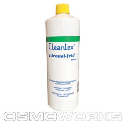 Cleantex Citronel Fris 1 fles | Glazenwasserswinkel.nl
