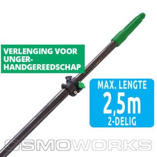 Unger Carbon telescoopsteel 2-delig 2,50 meter | Glazenwasserswinkel.nl