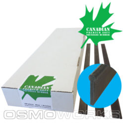 Canadian rubbers soft 45 cm | Glazenwasserswinkel.nl