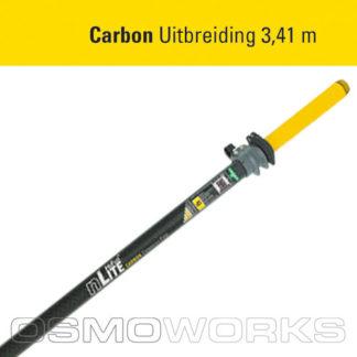 Unger nLite Carbon uitbreidingssteel 3,41 meter | Glazenwasserswinkel.nl