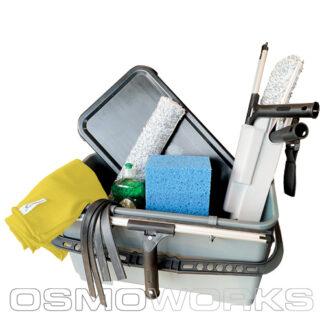 Sanitain Compleet in 26 liter emmer | Glazenwasserswinkel.nl