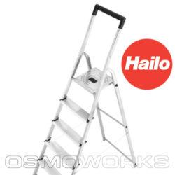 Hailo aluminium trap | Glazenwasserswinkel.nl