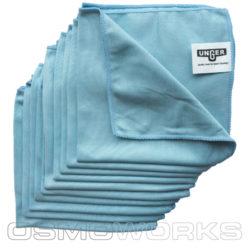 Unger SmartColor Unger MicroWipe 40×40 cm blauw | Glazenwasserswinkel.nl