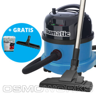 Numatic Stofzuiger PPR240-11 Blauw | Glazenwasserswinkel.nl