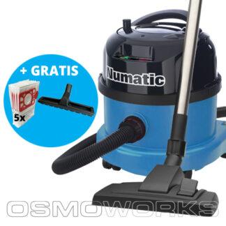 Numatic Stofzuiger PPR240-11 Blauw   Glazenwasserswinkel.nl