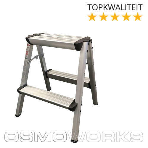 Osmoworks Dubbeltrap 2 treden | Glazenwasserswinkel.nl