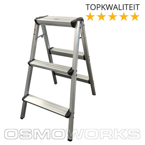 Osmoworks Dubbeltrap 3 treden | Glazenwasserswinkel.nl