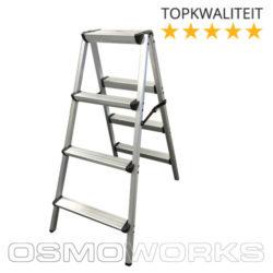 Osmoworks Dubbeltrap 4 treden | Glazenwasserswinkel.nl