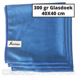 Sanitain Microvezel Glasdoek | Glazenwasserswinkel.nl