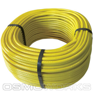 Unger slang geel 5x9 mm 100 m | Glazenwasserswinkel.nl