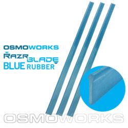 Osmoworks RazrBLADE blauwe rubbers 45 cm | Glazenwasserswinkel.nl