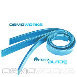 Osmoworks RazrBLADE blauwe rubbers 35 cm | Glazenwasserswinkel.nl