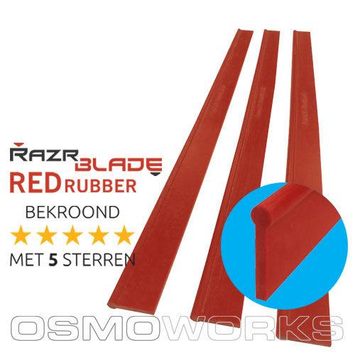 RazrBLADE RED rubber 35 cm| Glazenwasserswinkel.nl