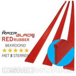 RazrBLADE RED rubber 92 cm| Glazenwasserswinkel.nl
