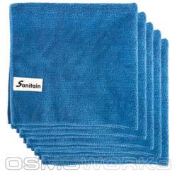 Sanitain Microdoek Blauw 1000 stuks | Glazenwasserswinkel.nl