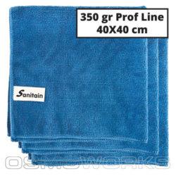 Sanitain Microdoek Blauw 200 stuks | Glazenwasserswinkel.nl