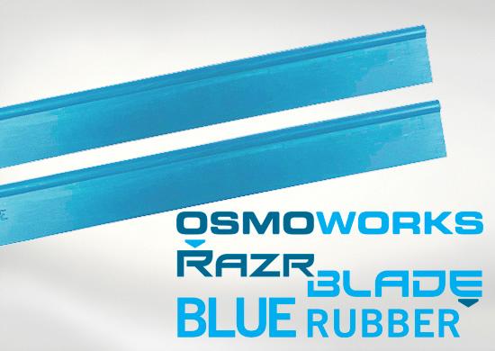 RazrBlade Blue wisser rubbers