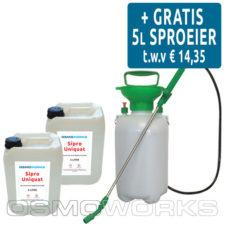 Osmoworks Algendoder Sipro Uniquat 2x5 liter | Glazenwasserswinkel.nl