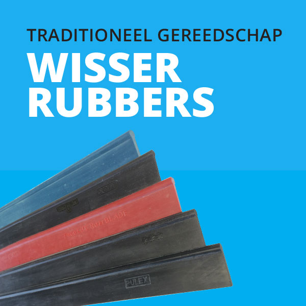 wisser rubber | Glazenwasserswinkel.nl